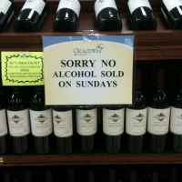sorry, no alcohol
