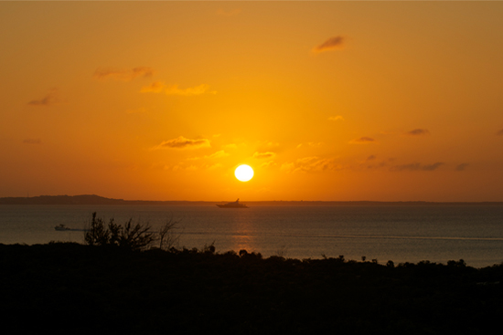 sunset-from-pelican-beach by ingrid