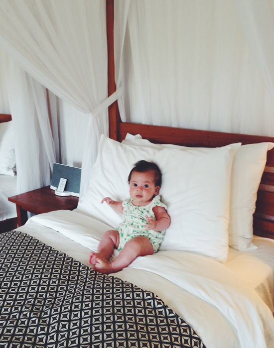 baby break at parrot cay | myseastory